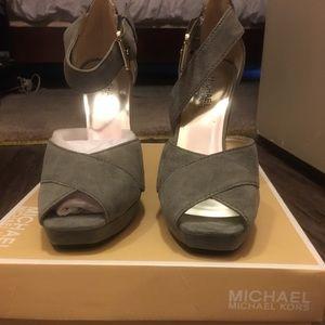 Michael Kors Grey Heels